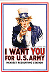 I Want You-Army Postcard