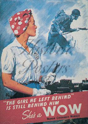 Girl He Left Behind Postcard