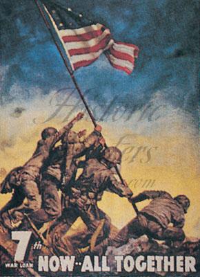 Iwo Jima Magnet
