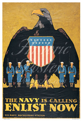 Navy Is Calling Poster