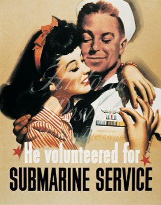 Submarine Service Poster