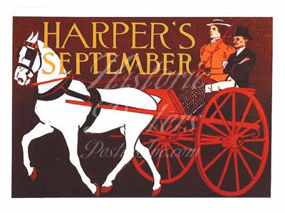Harper's September Postcard