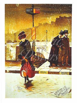 Creole Cigarettes Postcard
