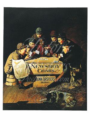 Newsboy Cigars Postcard