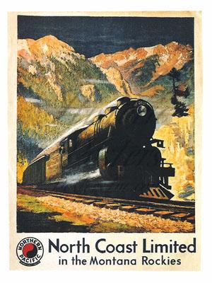 Northern Pacific Railroad Postcard
