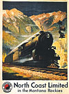 Northern Pacific Railroad Postcard
