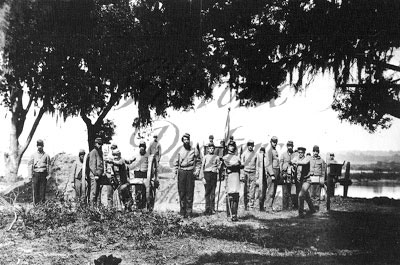 Confederate Artillerymen