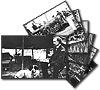 Civil War Black & White Photo Postcards -Set of 7