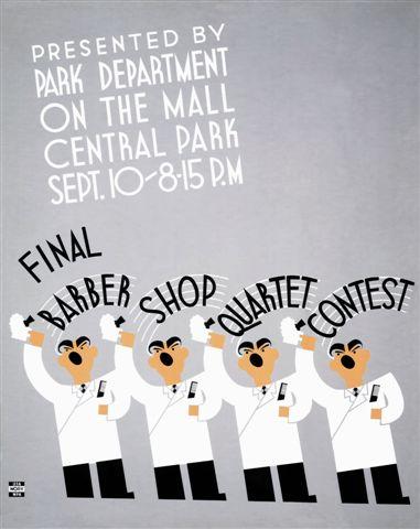 Barber Shop Quartet Contest
